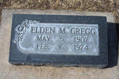 GREGG, ELDEN M - Stevens County, Kansas   ELDEN M GREGG - Kansas Gravestone Photos