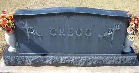 GREGG, FAMILY STONE - Stevens County, Kansas   FAMILY STONE GREGG - Kansas Gravestone Photos