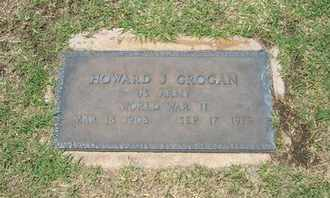 GROGAN, HOWARD J   (VETERAN WWII) - Stevens County, Kansas | HOWARD J   (VETERAN WWII) GROGAN - Kansas Gravestone Photos