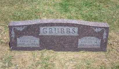GRUBBS, FANNIE B - Stevens County, Kansas | FANNIE B GRUBBS - Kansas Gravestone Photos