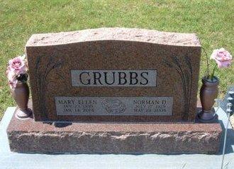 GRUBBS, NORMAN DEAN - Stevens County, Kansas | NORMAN DEAN GRUBBS - Kansas Gravestone Photos