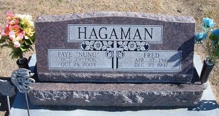 HAGAMAN , FRED LAFAYETTE, JR - Stevens County, Kansas | FRED LAFAYETTE, JR HAGAMAN  - Kansas Gravestone Photos