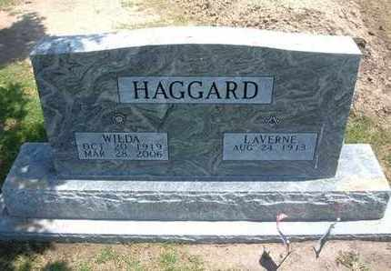 HAGGARD, WILDA - Stevens County, Kansas | WILDA HAGGARD - Kansas Gravestone Photos