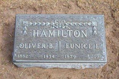 HAMILTON, OLIVER B - Stevens County, Kansas | OLIVER B HAMILTON - Kansas Gravestone Photos