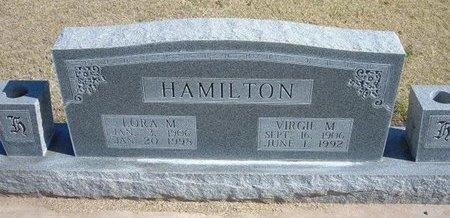 HAMILTON, LORA MAY - Stevens County, Kansas | LORA MAY HAMILTON - Kansas Gravestone Photos