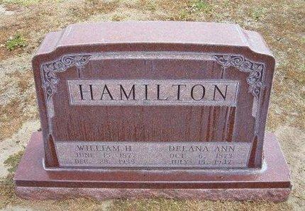 HAMILTON, WILLIAM H - Stevens County, Kansas | WILLIAM H HAMILTON - Kansas Gravestone Photos