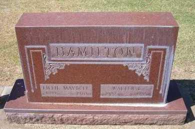 HAMILTON, WALTER E - Stevens County, Kansas | WALTER E HAMILTON - Kansas Gravestone Photos
