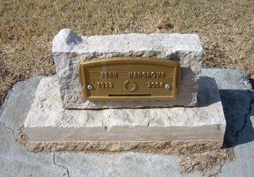 HARGROVE, FERN - Stevens County, Kansas | FERN HARGROVE - Kansas Gravestone Photos