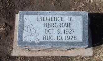 HARGROVE, LAWRENCE B - Stevens County, Kansas   LAWRENCE B HARGROVE - Kansas Gravestone Photos