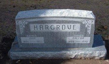 HARGROVE, JANIE - Stevens County, Kansas   JANIE HARGROVE - Kansas Gravestone Photos
