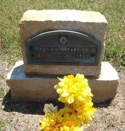 HARRIS, DAVID - Stevens County, Kansas | DAVID HARRIS - Kansas Gravestone Photos