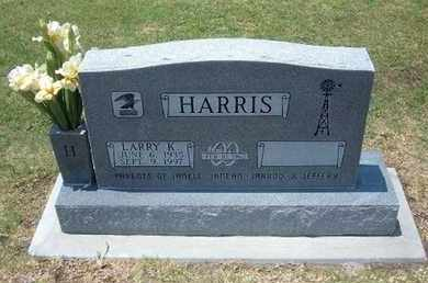 HARRIS, LARRY K - Stevens County, Kansas | LARRY K HARRIS - Kansas Gravestone Photos