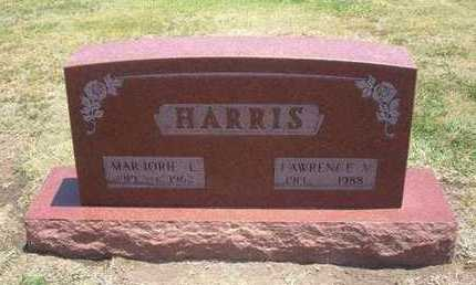 HARRIS, LAWRENCE V - Stevens County, Kansas | LAWRENCE V HARRIS - Kansas Gravestone Photos