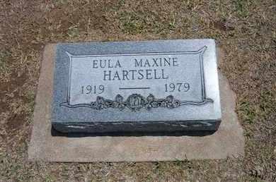 HARTSELL, EULA MAXINE - Stevens County, Kansas   EULA MAXINE HARTSELL - Kansas Gravestone Photos