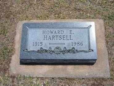 HARTSELL, HOWARD E - Stevens County, Kansas | HOWARD E HARTSELL - Kansas Gravestone Photos