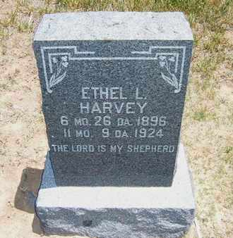 HARVEY, ETHEL L - Stevens County, Kansas | ETHEL L HARVEY - Kansas Gravestone Photos