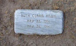 HAWK, RUTH CLARA - Stevens County, Kansas | RUTH CLARA HAWK - Kansas Gravestone Photos