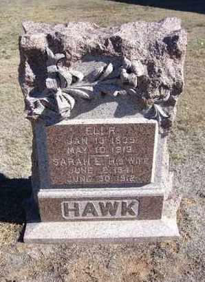 HAWK, ELI RICHMAN - Stevens County, Kansas | ELI RICHMAN HAWK - Kansas Gravestone Photos