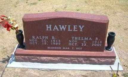 HAWLEY, THELMA B - Stevens County, Kansas | THELMA B HAWLEY - Kansas Gravestone Photos