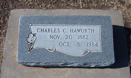 HAWORTH, CHARLES C - Stevens County, Kansas | CHARLES C HAWORTH - Kansas Gravestone Photos