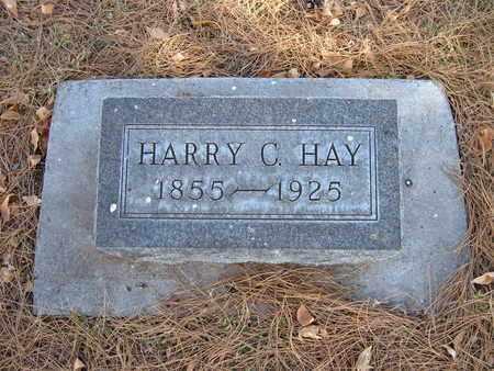 HAY, HARRY C - Stevens County, Kansas   HARRY C HAY - Kansas Gravestone Photos