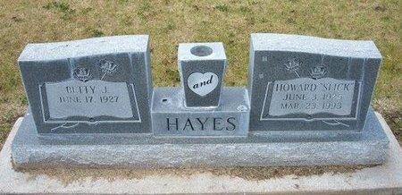 "HAYES, HOWARD MAYNARD ""SLICK"" - Stevens County, Kansas | HOWARD MAYNARD ""SLICK"" HAYES - Kansas Gravestone Photos"