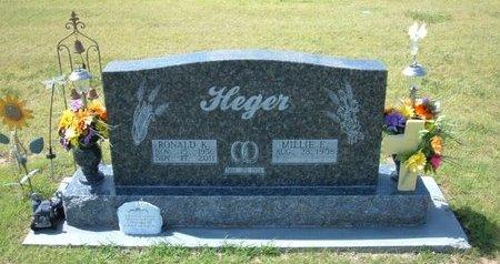 HEGER, RONALD KEITH - Stevens County, Kansas   RONALD KEITH HEGER - Kansas Gravestone Photos