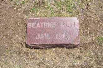 HENRY, BEATRICE RUTH - Stevens County, Kansas | BEATRICE RUTH HENRY - Kansas Gravestone Photos