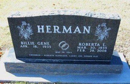 HERMAN, ROBERTA L - Stevens County, Kansas   ROBERTA L HERMAN - Kansas Gravestone Photos