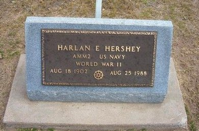 HERSHEY, HARLAN E   (VETERAN WWII) - Stevens County, Kansas   HARLAN E   (VETERAN WWII) HERSHEY - Kansas Gravestone Photos