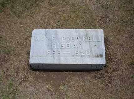 "HIGDAY, MARIE ""MILLIE"" - Stevens County, Kansas | MARIE ""MILLIE"" HIGDAY - Kansas Gravestone Photos"