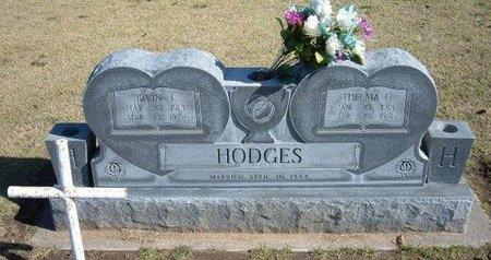 HODGES, IRVIN J   (VETERAN WWII) - Stevens County, Kansas   IRVIN J   (VETERAN WWII) HODGES - Kansas Gravestone Photos