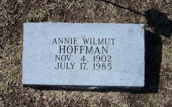 HOFFMAN, ANNIE LEE - Stevens County, Kansas | ANNIE LEE HOFFMAN - Kansas Gravestone Photos