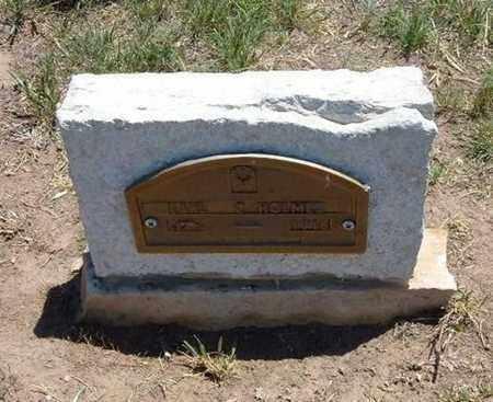 HOLMES, EARL - Stevens County, Kansas | EARL HOLMES - Kansas Gravestone Photos