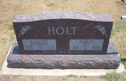 HOLT, HARRIETTE - Stevens County, Kansas | HARRIETTE HOLT - Kansas Gravestone Photos