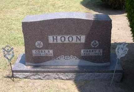 FOX HOON, CORA B - Stevens County, Kansas | CORA B FOX HOON - Kansas Gravestone Photos