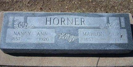 HORNER, NANCY ANN - Stevens County, Kansas | NANCY ANN HORNER - Kansas Gravestone Photos