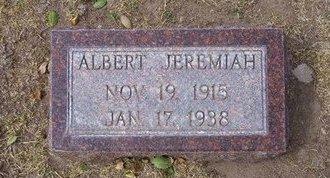 HORTON, ALBERT JEREMIAH - Stevens County, Kansas   ALBERT JEREMIAH HORTON - Kansas Gravestone Photos