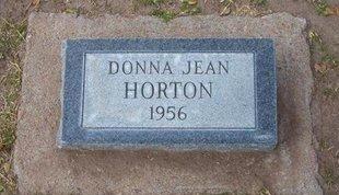 HORTON, DONNA JEAN - Stevens County, Kansas | DONNA JEAN HORTON - Kansas Gravestone Photos