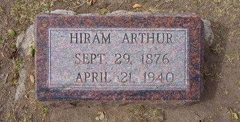 HORTON, HIRAM ARTHUR - Stevens County, Kansas   HIRAM ARTHUR HORTON - Kansas Gravestone Photos