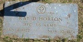 HORTON, RAY D   (VETERAN) - Stevens County, Kansas   RAY D   (VETERAN) HORTON - Kansas Gravestone Photos