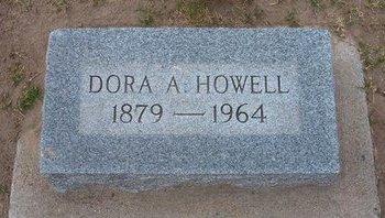 HOWELL, DORA A - Stevens County, Kansas | DORA A HOWELL - Kansas Gravestone Photos