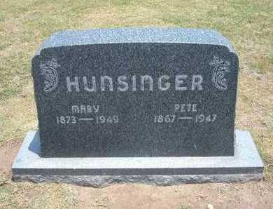 HUNSINGER, PETE - Stevens County, Kansas | PETE HUNSINGER - Kansas Gravestone Photos