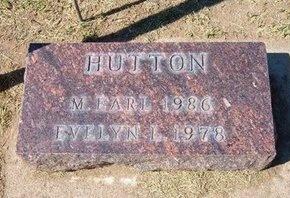 HUTTON, EVELYN LITTRELL - Stevens County, Kansas | EVELYN LITTRELL HUTTON - Kansas Gravestone Photos