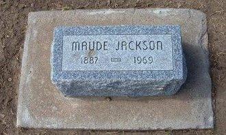 JACKSON, MAUDE - Stevens County, Kansas | MAUDE JACKSON - Kansas Gravestone Photos