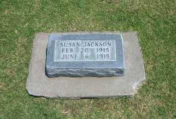 JACKSON, SUSAN - Stevens County, Kansas | SUSAN JACKSON - Kansas Gravestone Photos