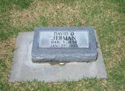 JERMAN, DAVID O. - Stevens County, Kansas | DAVID O. JERMAN - Kansas Gravestone Photos