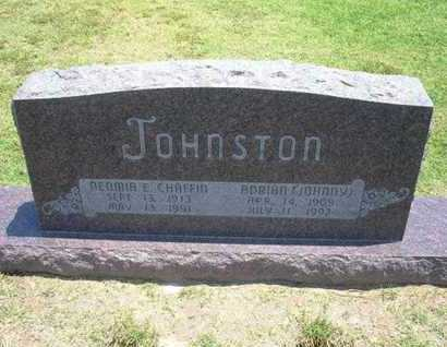 "JOHNSTON, ADRIAN ""JOHNNY"" - Stevens County, Kansas 