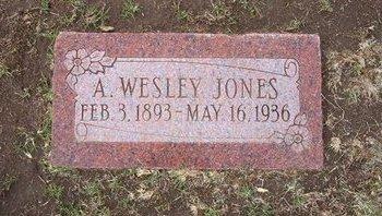JONES, A WESLEY - Stevens County, Kansas   A WESLEY JONES - Kansas Gravestone Photos