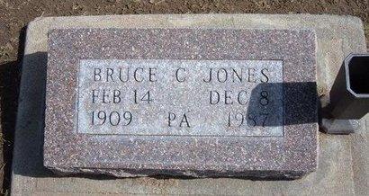 JONES, BRUCE C - Stevens County, Kansas | BRUCE C JONES - Kansas Gravestone Photos